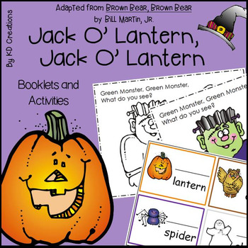 Jack O' Lantern, Jack O' Lantern for Kindergarten * Bookle