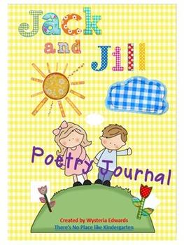Jack and Jill Nursery Rhyme Poetry Journal