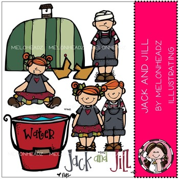 Melonheadz: Jack and Jill clip art