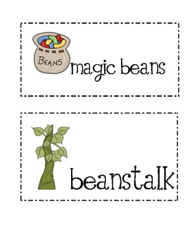 Jack and The Beanstalk write the room