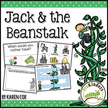 Jack and the Beanstalk Activities (Pre-K, Preschool)