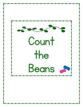 Jack and the Beanstalk Counting File Folder Game