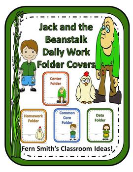Binder Covers - Jack and the Beanstalk