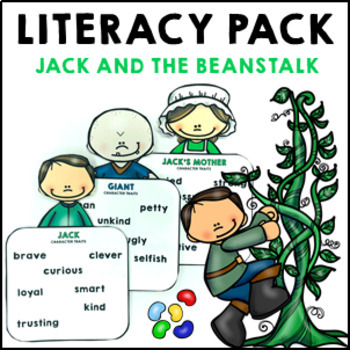 Jack and the Beanstalk Fairy Tale Pack reading comprehensi