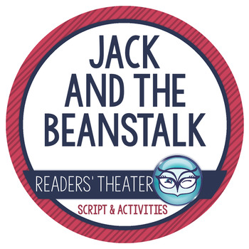 Jack and the Beanstalk Readers' Theater Script Activity Pack
