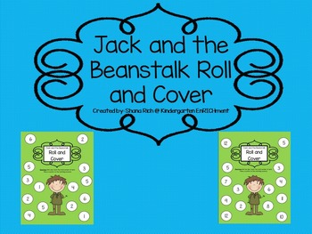 Jack and the Beanstalk Roll and Cover