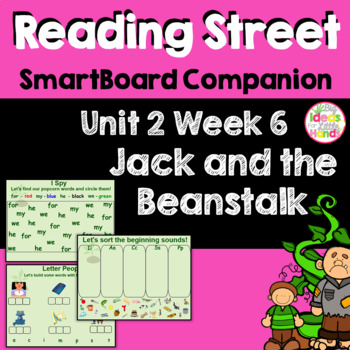 Jack and the Beanstalk SmartBoard Companion Kindergarten