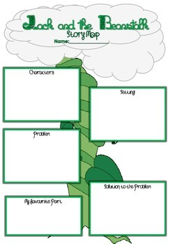 Jack and the Beanstalk Storymap Fairytales