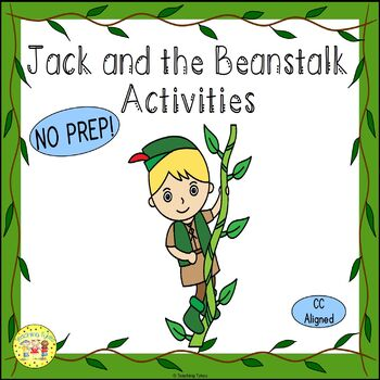 Jack and the Beanstalk Fairy Tales Worksheets Activities G