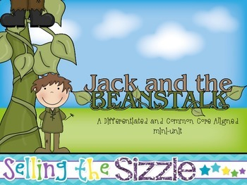 Jack and the Beanstalk- a Differentiated and Common Core A