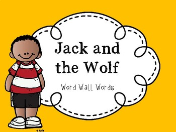 Jack and the Wolf High Frequency Word PowerPoint
