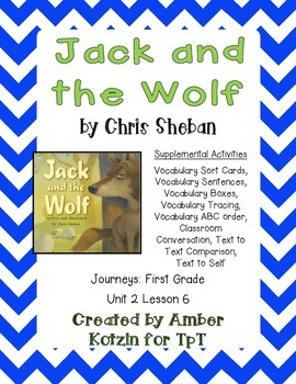 Jack and the Wolf Supplemental Activities 1st Grade Journe