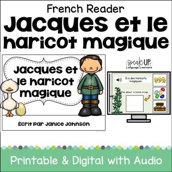 Jack et le Haricot Magique French Jack & the Beanstalk Reader