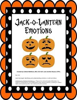 {Freebie} Jack-o-Lantern Emotions