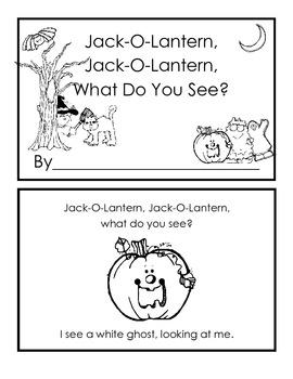 Jack-o-Lantern, Jack-o-Lantern, What Do You See?
