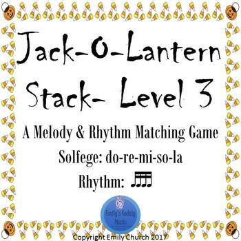 Jack-o-Lantern Stack Level 3