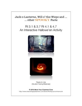Jack-o-Lanterns, Will-o'-the-Wisps & Other Spooky Facts -