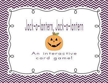 Jack-o-lantern, Jack-o-lantern: An Interactive Card Game