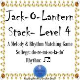 Jack-o-lantern Stack Level 4