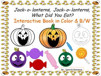 Jack-o-lanterns, Jack-o-lanterns, What Did You Eat? Intera