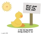 Jack the Duck K Sounds Speech Therapy Activity