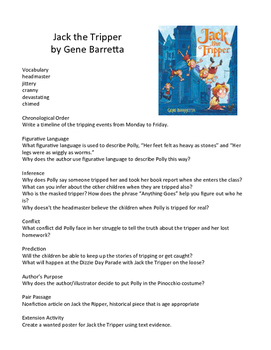 Jack the Tripper by Gene Barretta - Teaching Literary Skil