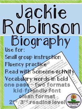 Jackie Robinson Biography