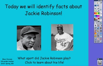 Jackie Robinson Flipchart