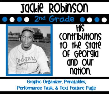 Jackie Robinson Unit SS2H1 Georgia Historical Figures