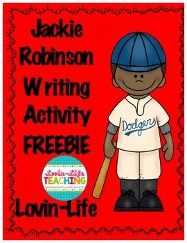 Jackie Robinson Writing Activity FREEBIE of the WEEK!