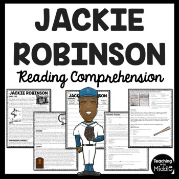 Jackie Robinson biography, questions, documents, Civil Rig