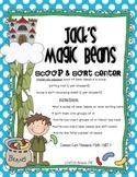 Jack's Magic Beans-Scoop & Sort Place Value Center