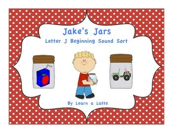 Jake's Jars - Letter J Beginning Sound Sort