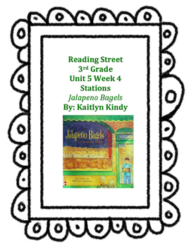 Jalapeno Bagels Reading Street Unit 5 Week 4
