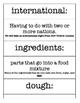 Jalapeno Bagels - Second  - Imagine It! - Vocabulary, Comp