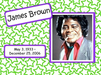 James Brown: Musician in the Spotlight