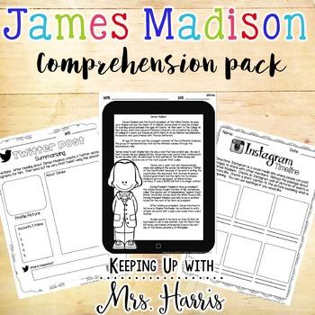 James Madison Comprehension Pack