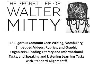 """James Thurber's """"The Secret Life of Walter Mitty"""" –16 Rigo"""