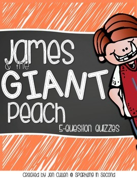 James and the Giant Peach 5-Question Quizzes