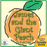 James and the Giant Peach Novel Study CD