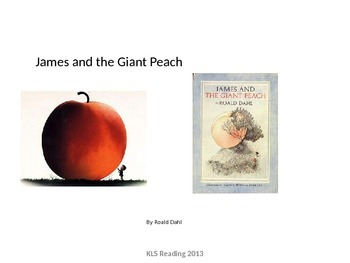 James and the Giant Peach - Powerpoint summary-  Review Ad