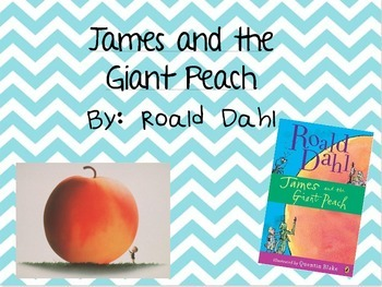 James and the Giant Peach Vocabulary PowerPoint