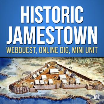 JAMESTOWN HISTORY: Webquest, Video Questions, Photos & Resources