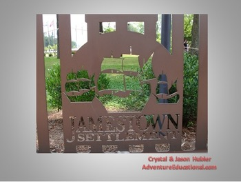Jamestown Settlement PowerPoint interactive slide show