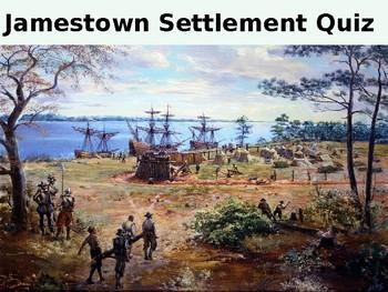 Jamestown Settlement (Virginia) History and Quiz