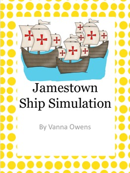 Jamestown Ship Simulation and Reader's Theater from Blood