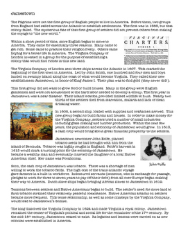 Jamestown: Summary and Questions