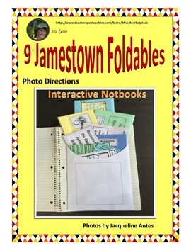 Jamestown Unit Bundle 1 Foldables