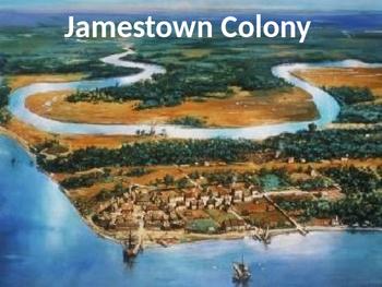 Jamestown Virginia Colony - Power Point first settlement f
