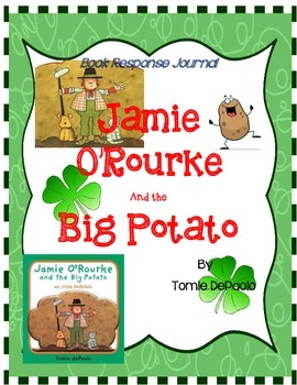 Jamie O'Rourke and the Big Potato - Tomie DePaola:  Book R